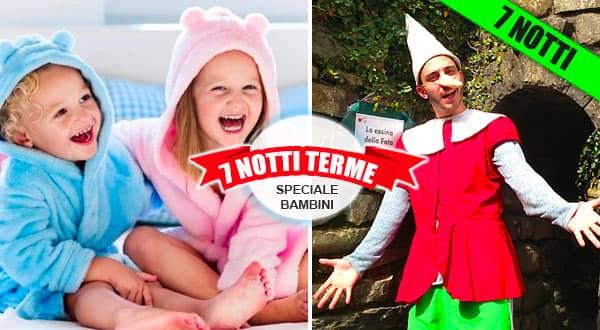 Cure Termali in Toscana per bambini.