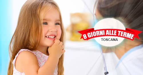 Cure inalatorie per bambini alle Terme in Toscana.