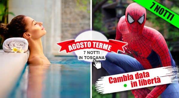 Agosto alle Terme con i bambini in Toscana