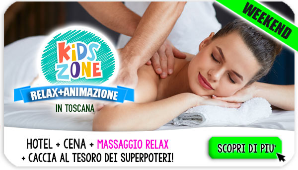 Weekend Spa in Toscana con bambini