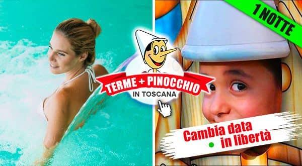 Terme e Pinocchio Collodi Toscana