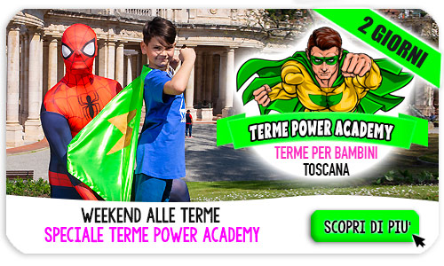 Weekend Terme con la Power Academy l'aaccademia dei superpoteri
