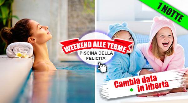 Weekend Terme con piscina termale per bambini